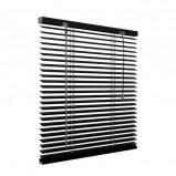 Afbeelding van Aluminium jaloezie 25 mm Smart Matte black 80x130