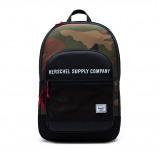 Image of Herschel Athletics Kaine backpack (Main colour: 3181 Black / Woodland Camo)