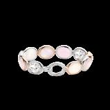 Image of TI SENTO Milano Bracelet Pink Silver Rose Gold Plated 2857LP