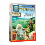 Afbeelding van 999 Games Carcassonne: schapen & heuvels bordspel