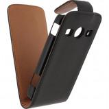 Afbeelding van Xccess Leather Flip Case Samsung Galaxy Xcover 2 Zwart telefoonhoesje