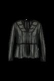 Abbildung von FSTVL by MS Mode Damen Bluse mit Stickereien Schwarz