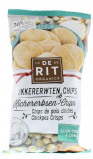 Afbeelding van De Rit Kikkererwtenchips sour cream & onion 8 x 75g