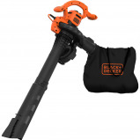 Afbeelding van Black & Decker BEBLV260 QS 2600W Bladruimer Oranje/Zwart