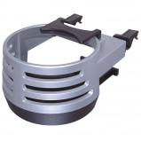Afbeelding van Carpoint blikjeshouder aluminium look