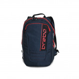 Afbeelding van Brabo Backpack Traditional Denim Hockeytas Junior Blue Red