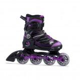 Afbeelding van Fila Wizy Alu Verstelbare Inline Skates Junior Zwart Paars EU 35 38 Kinderen