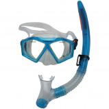 Afbeelding van Aqua Lung Sport Molokai DX Snorkelset Junior Lichtblauw