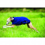 Abbildung von Amigo Fleece Dog Rug Navy/Blue Large