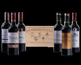 Afbeelding van Goudbekroonde Bordeaux Selectie in luxe houten kist