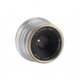 Afbeelding van 7artisans 25mm F/1.8 zilver voor Fuji X mount