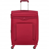 Afbeelding van Delsey Baikal Expandable Spinner 78cm Red koffer