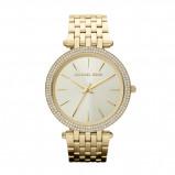 Afbeelding van Michael Kors Ladies Goudkleurig Tone horloge MK3191
