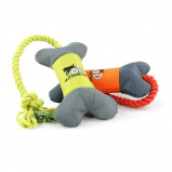 Image of All For Paws Bone Outdoor Ballistic Orange/Green