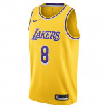 Image of Julius Randle Icon Edition Authentic (Los Angeles Lakers) Men's Nike NBA Connected Jersey Yellow