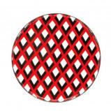 Afbeelding van Designed for Living Scales ontbijtbord (Kleur: rood)