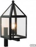 Afbeelding van KS Verlichting Leusden Wandlamp Zwart