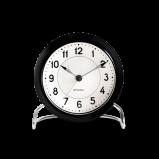 Image of Arne Jacobsen Station Table Clock  Black/White (43672)