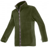 Image of Baleno Henry Fleece Jacket (available in brown, khaki and blue)