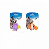 Afbeelding van Duvo+ Assortiment Visjes 2st Oranje/blauw 7,5x9x3,5cm