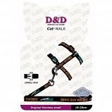 Afbeelding van D&d Cat walk/original Small Harness Black 18 28cm