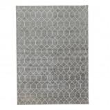 Afbeelding van Bamboe zijde Vloerkleed Laatz Grey 200x300cm Brinker carpets