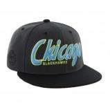 Afbeelding van 47 Brand Chicago Blackhawks pet donkergrijs one size