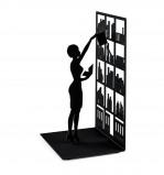 Afbeelding van Balvi boekensteun The library zwart metaal