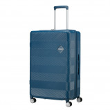 Afbeelding van American Tourister Flylife Expandable Spinner 77cm Petrol Blue koffer