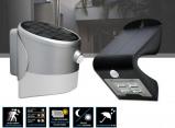 Afbeelding van Dreamled Solar Led Design Wandlampen Draadloze buitenlamp met licht en bewegingssensor 2 Verschillende Designs