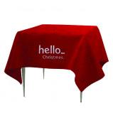 Abbildung von 1 St. Polyester Tischdecken mit Logo 229x229cm ab 7 Tagen