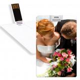 Image de Clé USB avec photo 8Go Blanche