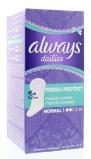Afbeelding van Always Fresh & Protect Normal, 30 stuks