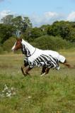Bilde av Bucas Buzz Off Rain Zebra Full Neck