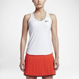 Image of NikeCourt Pure Women's Tennis Top White