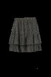 Abbildung von FSTVL by MS Mode Damen Rock mit Rüschen Schwarz