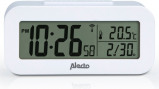 Image of Alecto AK 30 alarm clock with thermometer (Colour: white)