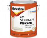 Afbeelding van Alabastine 5077771 2In1 Muurverf Vlekken Wit 5L