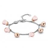 Image of TI SENTO Milano Bracelet Nude Silver Rose Gold Plated 2884NU