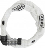Image of Abus 1200 Combination Chain Lock (Frame colour: white)