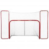 Afbeelding van Bauer hockeygoal 180 x 120 cm rood/wit