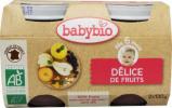 Afbeelding van Babybio Dessert Fruitlekkernij 6 Maanden 130 gram, 2x130 gram