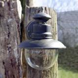 Afbeelding van Brilliant aantrekkelijke buitenwandlamp ARTU, metaal, glas, E27, 60 W, energie efficiëntie: A++, B: 21.5 cm, H: 24 cm