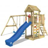 Image of Fatmoose Speeltoestel met houten dak MultiFlyer