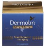 Afbeelding van Dermolin Pure Care Nachtcreme Anti aging (50ml)