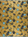 Zdjęcie Vlisco VL01092.220.04 Gold African print fabric Limited Editions Nature