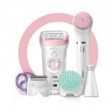 Afbeelding van Braun Silk épil Beauty Set 9 995 Deluxe epilator, scheerapparaat, scrubben en reiniging