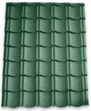 Afbeelding van Aquaplan aqua pan metalen dakpannenplaat classic 113 cm x 86 cm, groen