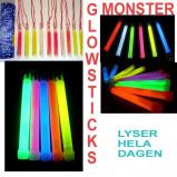 """Bild av """"10st Stora Glowsticks MIXADE färger"""""""