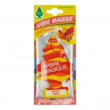 Afbeelding van Arbre Magique luchtverfrisser 12 x 7 cm Mango & Papaya